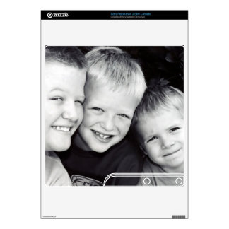 Brothers Three Electronics Skin PS3 Slim Console Decal