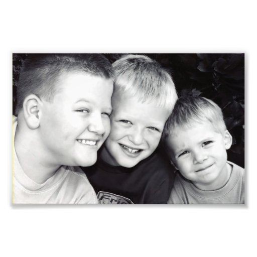 Brothers Three Photo Print