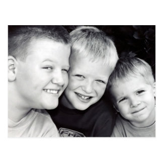 Brothers Three Postcard