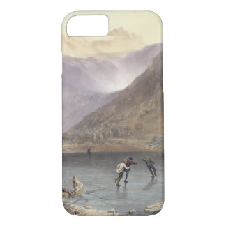 Brothers Water, detail of ice skaters, from 'The E iPhone 7 Case
