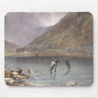 Brothers Water, detail of ice skaters, from 'The E Mouse Pad