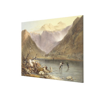 Brothers Water, from 'The English Lake District', Canvas Print