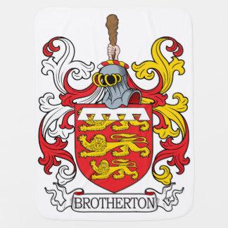 Brotherton Family Crest Swaddle Blanket