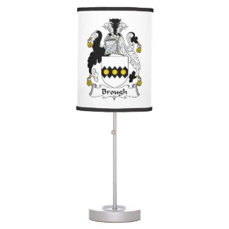 Brough Family Crest Table Lamp
