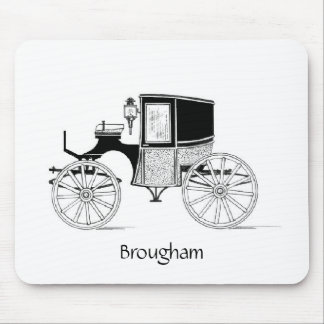 Brougham Carriage, Mousepad