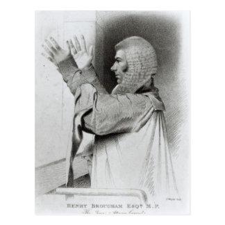 Brougham Esq MP, The Queen's Attorney General Postcard