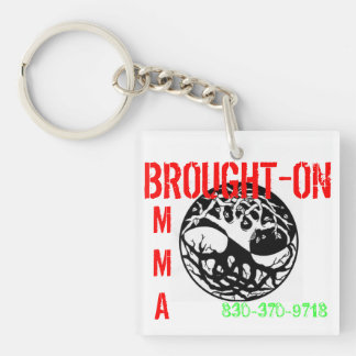 Brought-On MMA Keychain