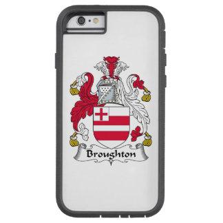Broughton Family Crest Tough Xtreme iPhone 6 Case