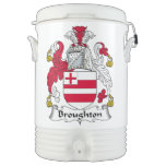 Broughton Family Crest Igloo Beverage Cooler