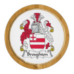 Broughton Family Crest Round Cheeseboard