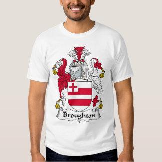 Broughton Family Crest T Shirt