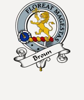 Broun Clan Badge Shirt
