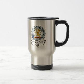 Broun Clan Badge Travel Mug