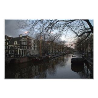 Brouwersgracht, Amsterdam Photo Print
