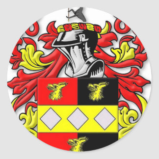 Browder Coat of Arms Classic Round Sticker