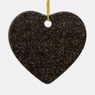 brown2 BEE MINE BROWN GLITTER TEXTURE BACKGROUND T Christmas Ornament