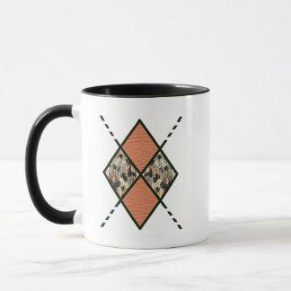 Brown-003 Blobs of Neutral Colors Mug
