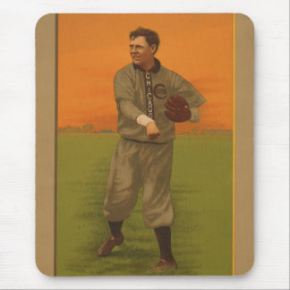 Brown  - 1911 Lithograph Mouse Pad