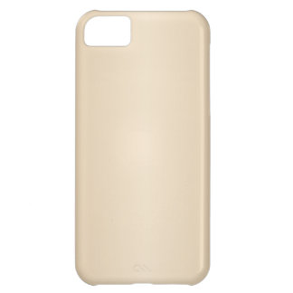 Brown 1 - Champaigne and Tan Gradient iPhone 5C Covers
