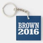 BROWN 2016 LLAVERO