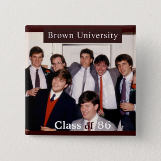 Brown 25th Reunion Button