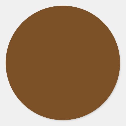 Brown 663300 sticker