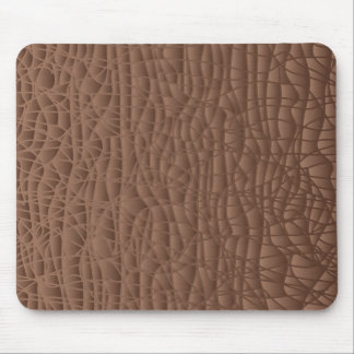 Brown Abstract Background Mouse Pad