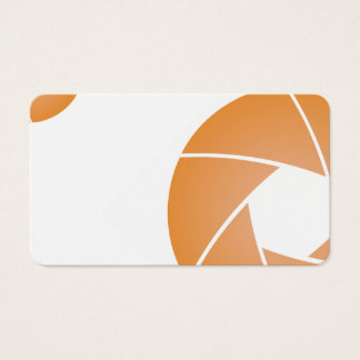 Brown abstract business card