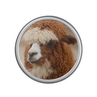 Brown Alpaca bluetooth speaker