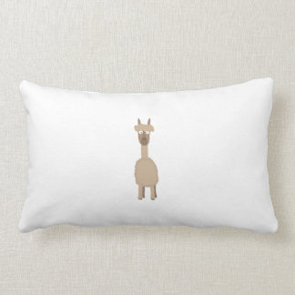 Brown Alpaca Lumbar Pillow