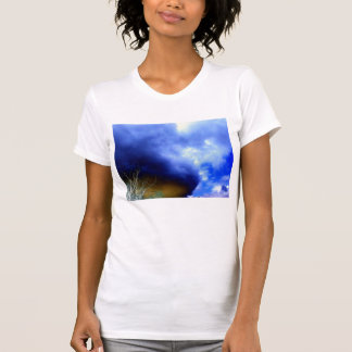 Brown&Blue Storm Front by KLM T-shirt