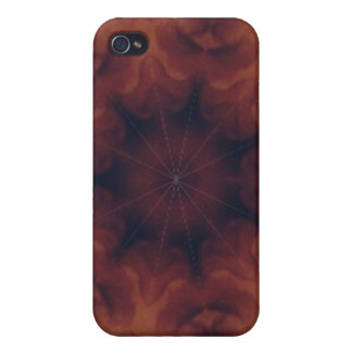Brown and amber gemstone iPhone 4 covers