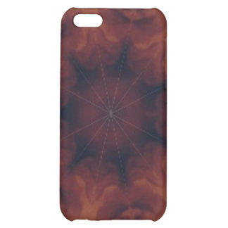 Brown and amber gemstone iPhone 5C cover