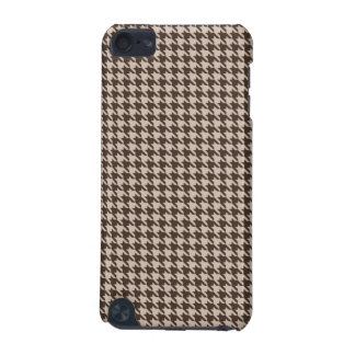Brown and Beige Houndstooth Ipod Case iPod Touch 5G Covers