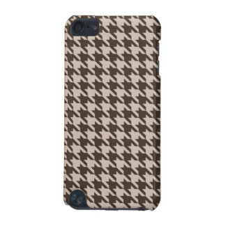 Brown and Beige Houndstooth Ipod Case iPod Touch 5G Case
