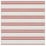 [ Thumbnail: Brown and Beige Lines Fabric ]
