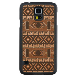 Brown And Black Aztec Pattern Southwest Phone Case