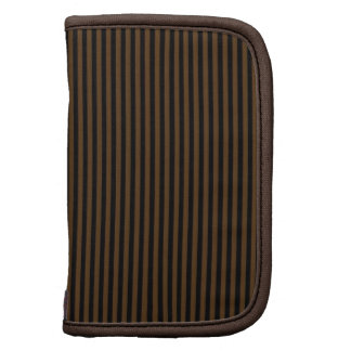 Brown and Black Stripes Planner