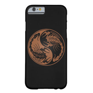 Brown and Black Yin Yang Scorpions Barely There iPhone 6 Case