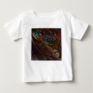 Brown And Blue Abstract Baby T-Shirt