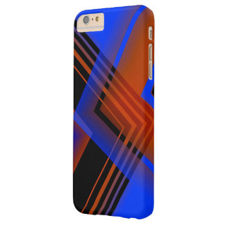 Brown and Blue Geometric Art iPhone 6 Plus case