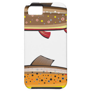Brown and brook trout iPhone SE/5/5s case