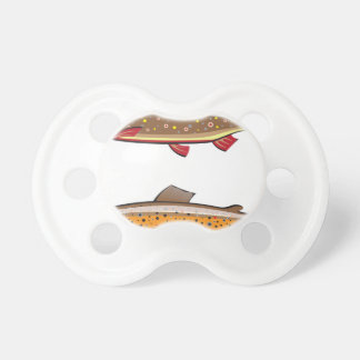 Brown and brook trout pacifier