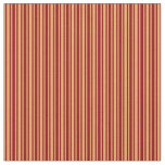 [ Thumbnail: Brown and Dark Red Pattern Fabric ]