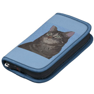Brown and Gray House Cat Digital Portrait Planners