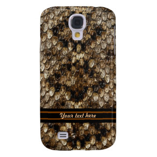 Brown and Ivory Reptile Samsung Galaxy S4 Cover