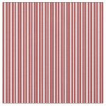 [ Thumbnail: Brown and Lavender Lined/Striped Pattern Fabric ]