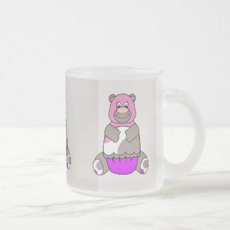 Brown And Pink Polkadot Bear Coffee Mug