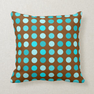 Brown And Turquoise Pillows, Brown And Turquoise Throw Pillows