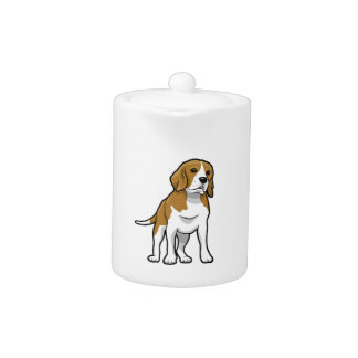 Brown and White Beagle